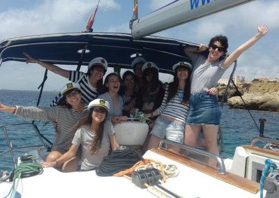 Despedida de soltera en Tabarca con velero